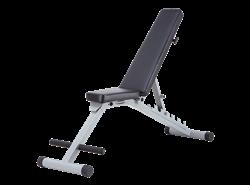 Универсальная регулируемая скамья Body Solid Powerline PFID125/PFID135 - фото 20520
