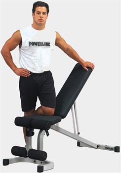 Универсальная регулируемая скамья Body Solid Powerline PFID130 - фото 20522