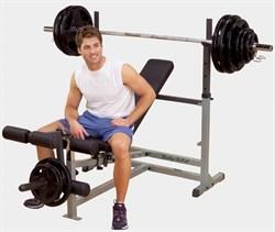 Силовая скамья для жима Body Solid GDIB-46L - фото 20537