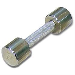 Гантель хромированная для фитнеса 2 кг MB-FitM-2 - фото 21233