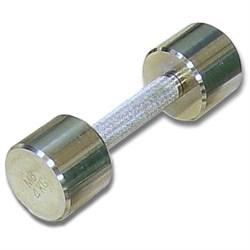 Гантель хромированная для фитнеса 4 кг MB-FitM-4 - фото 21255