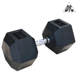 Гантели DFC гексаг. обрезиненная пара 42.5кг DB001-42.5 - фото 21430