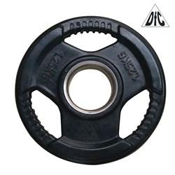 Диск обрезиненный DFC, чёрный, 51 мм, 1,25кг - фото 21495