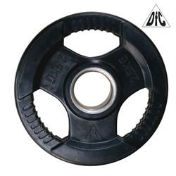 Диск обрезиненный DFC, чёрный, 51 мм, 2,5кг - фото 21525
