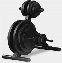 Подставка для олимпийских дисков Body Solid OWT24 - фото 21725