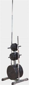 Подставка для стандартных дисков и грифов Body Solid GSWT - фото 21727
