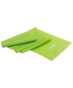 Эспандер ленточный для йоги ES-201 1200х150х0,35 мм, зеленый - фото 26668