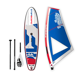"""Комплект STARBOARD WATERMAN PACKAGE SUP WINDSURFING INFLATABLE WITH BLEND 11'2"""" - фото 31704"""