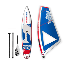 Комплект STARBOARD WATERMAN PACKAGE SUP WINDSURFING INFLATABLE WITH TOURING 12'6 - фото 31705