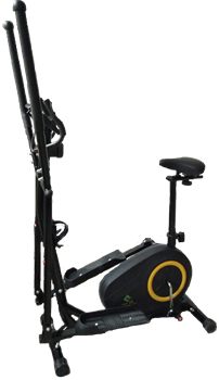 Эллиптический магнитный тренажер RS Super Active 1502S (черный) - фото 32822