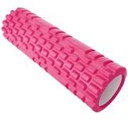 B31215 Ролик для йоги (розовый) 45х14см ЭВА/АБС