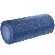 B31510-8 Ролик для йоги полнотелый (синий графит) 30х15см.