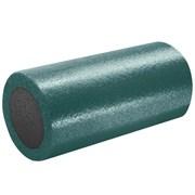 B31510-9 Ролик для йоги полнотелый 2-х цветный (т.зеленый/серый) 30х15см.
