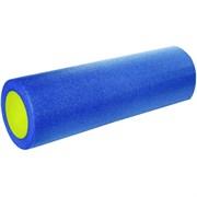 B31511-1 Ролик для йоги полнотелый 2-х цветный (синий/желтый) 45х15см.