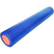 B31513 Ролик для йоги полнотелый 2-х цветный (сине-оранжевый) 90х15см.