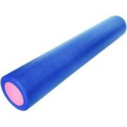 B31513 Ролик для йоги полнотелый 2-х цветный (сине-розовый) 90х15см.