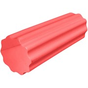 B31596 Ролик массажный для йоги (красный) 30х15см.