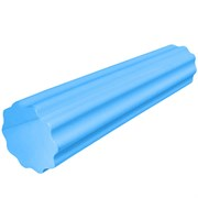 B31598-1 Ролик массажный для йоги (синий) 60х15см.