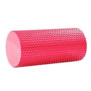 B31600 Ролик массажный для йоги (красный) 30х15см.