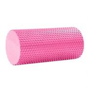 B31600 Ролик массажный для йоги (розовый) 30х15см.