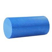B31600 Ролик массажный для йоги (синий) 30х15см.