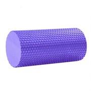 B31600 Ролик массажный для йоги (фиолетовый) 30х15см.