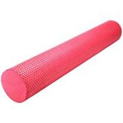 B31603-3 Ролик массажный для йоги (красный) 90х15см.