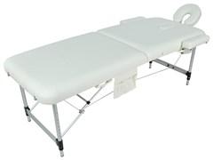 Массажный стол складной алюминиевый Med-Mos JFAL01A 2-х секционный (МСТ-002Л)