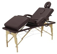 Массажный стол складной деревянный Med-Mos JF-Tapered (МСТ-141)
