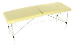 Массажный стол складной алюминиевый Med-Mos JFAL01-F (МСТ-321ОЛ) 2-х секционный