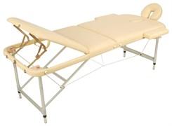 Массажный стол складной алюминиевый Med-Mos JFAL03 (3-х секционный) (МСТ-27)