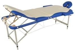 Массажный стол складной алюминиевый Med-Mos JFAL03 М/К  (3-х секционный) (МСТ-27B)
