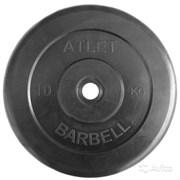 Диск Атлет 10 кг, 26 мм