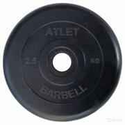 Диск Атлет 2,5 кг,26 мм