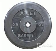 Диск Атлет 25 кг, 26 мм