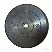 Диск Атлет 15кг, 31мм