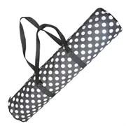 C33502-2 Чехол для гимнастического коврика (черный горошек)