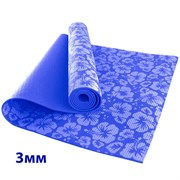HKEM113-03-NAVY Коврик для йоги 3 мм-Синий (12)