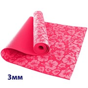 HKEM113-03-PINK Коврик для йоги 3 мм-Розовый (12)