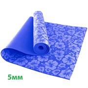 HKEM113-05-NAVY Коврик для йоги 5 мм-Синий (12)