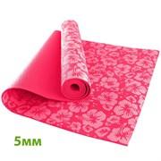 HKEM113-05-PINK Коврик для йоги 5 мм-Розовый (12)