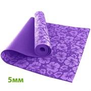 HKEM113-05-PURPLE Коврик для йоги 5 мм-Фиолетовый (12)