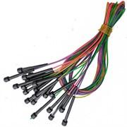 B31609 Скакалка (10 штук) скоростная 2,8 м. трос в ПВХ ручки пластик (цвета Mix)