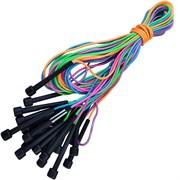 E29462 Скакалки (10 штук) шнур из ПВХ, 2,7 м. (мультиколор)