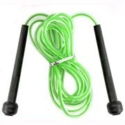 R18145 Скакалка 2,8 м. ПП/ПВХ (зеленая)