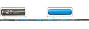 Гриф для штанги  Pro на диам. 30 мм, 180 см, на 120 кг, вес 8 кг