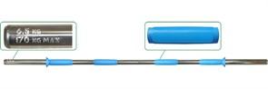 Гриф для штанги  Pro на диам. 30 мм, 150 см, на 170 кг, вес 6,5 кг