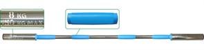 Гриф для штанги  Pro+ на диам. 50 мм, 150 см, на 150 кг, вес 8 кг
