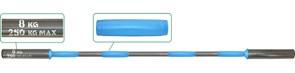 Гриф для штанги  Pro+ на диам. 50 мм, 150 см, на 250 кг, вес 8 кг