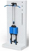 Блоковый тренажер реабилитационный пристенный Leco-IT Pro